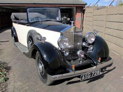 Lot 33 - 1937 Rolls-Royce 25/30 Tourer