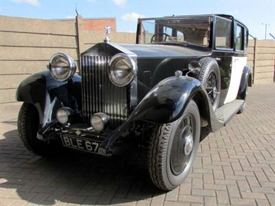 Lot 34 - 1934 Rolls-Royce 20/25 Limousine de Ville