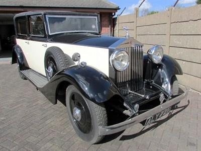 Lot 31 - 1933 Rolls-Royce 20/25 Sedanca de Ville