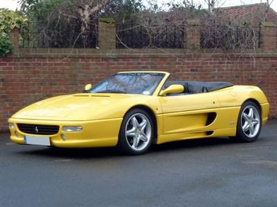 Lot 73 - 1998 Ferrari F355 Spider