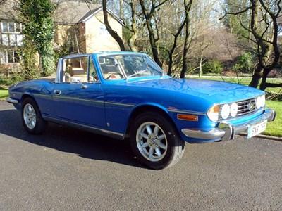 Lot 10-1977 Triumph Stag