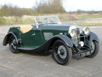 Lot 65 - 1938 Rapier Ten Supercharged Tourer