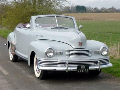 Lot 11 - 1948 Nash 4871 Ambassador Custom Cabriolet