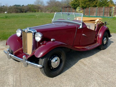 Lot 57 - 1953 MG TD