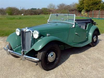 Lot 50-1952 MG TD MKII