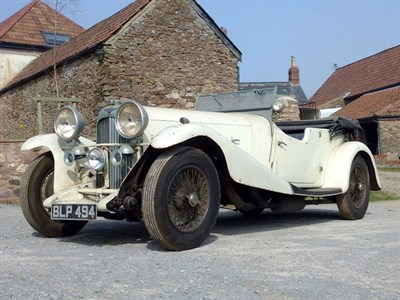 Lot 35 - 1934 Lagonda M45 T8 Tourer