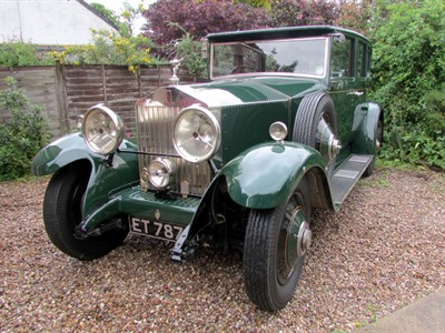 Lot 67-1929 Rolls-Royce 20/25 Saloon