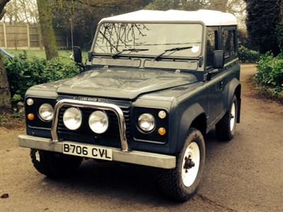 Lot 2 - 1985 Land Rover 90 2.5 Diesel