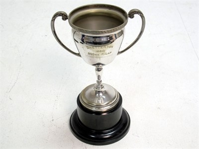 Lot 7-1960 Snetterton 350 Fastest Lap Trophy