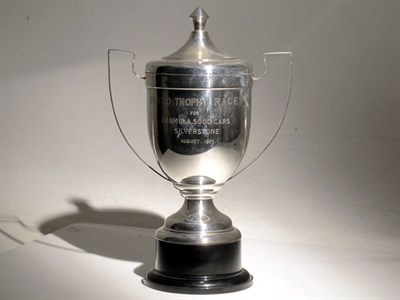 Lot 9-1971 Silverstone Formula 5000 Racing Trophy