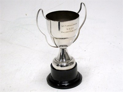 Lot 8-1963 Mallory Park Formula Junior Racing Trophy