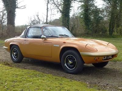 Lot 23 - 1972 Lotus Elan Sprint Convertible