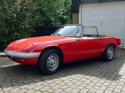 Lot 50 - 1968 Lotus Elan S3 SE