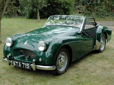 Lot 12 - 1954 Triumph TR2