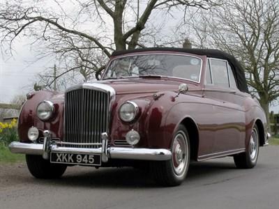 Lot 56 - 1956 Bentley S1 Drophead Coupe