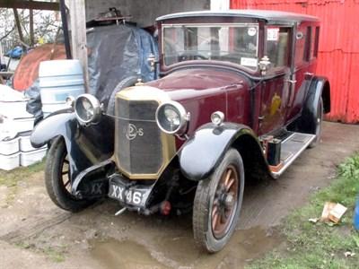 Lot 51 - 1925 Panhard et Levassor Type X45 Saloon