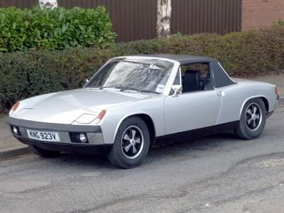 Lot 64 - 1971 Porsche 914/6