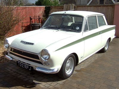 Lot 46 - 1963 Ford Lotus Cortina