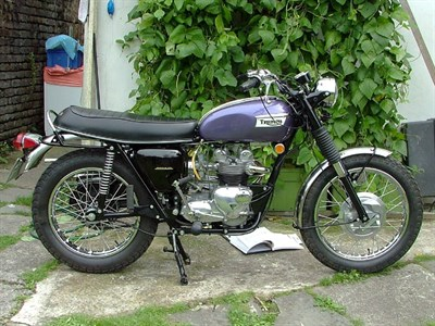 Lot 32 - 1969 Triumph T100C Tiger