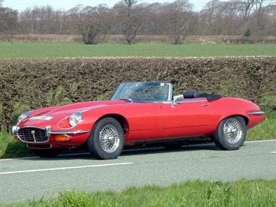Lot 79 - 1973 Jaguar E-Type V12 Roadster