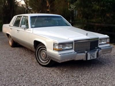 Lot 68 - 1991 Cadillac Brougham