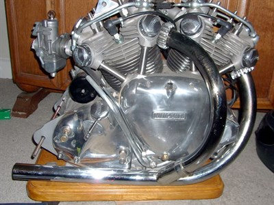 Lot 14 - 2008 Vincent Engine
