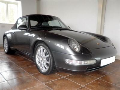 Lot 43 - 1995 Porsche 911 Carrera Cabriolet