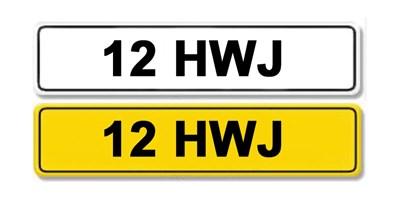Lot 1-Registration Number 12 HWJ