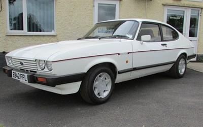 Lot 86-1987 Ford Capri 2.8i