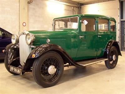 Lot 39 - 1933 Humber 12 Saloon