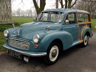 Lot 40 - 1960 Morris Minor 1000 Traveller