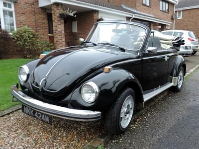 Lot 6-1973 Volkswagen Beetle 1303 Convertible