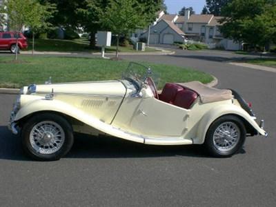 Lot 93 - 1955 MG TF 1500