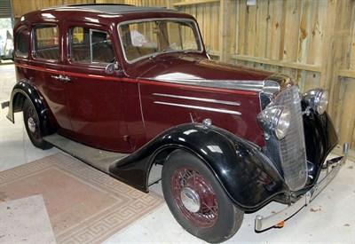 Lot 81 - 1936 Vauxhall DX 14/6 Saloon