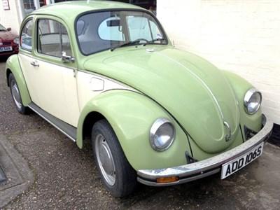 Lot 91 - 1978 Volkswagen Beetle 1200