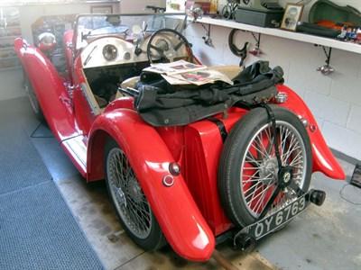 Lot 96 - 1933 MG J2 Midget