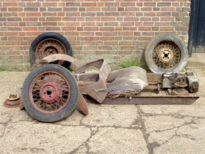 Lot 2 - Morgan Three Wheeler Spares