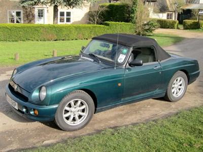 Lot 85 - 1995 MG R V8