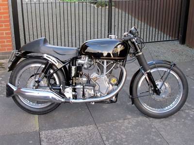 Lot 28-1955 Velocette Sports Special