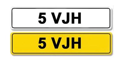 Lot 4-Registration Number 5 VJH
