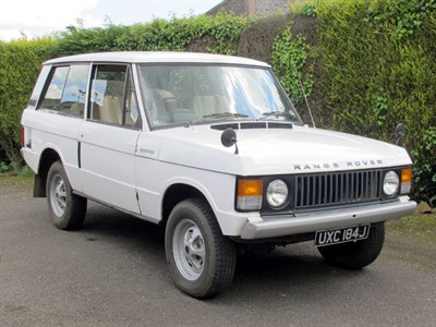 Lot 58 - 1971 Range Rover Classic
