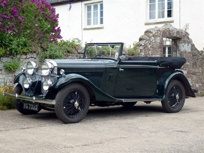 Lot 23-1934 Talbot 65/75 Drophead Foursome Coupe