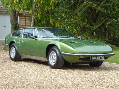Lot 55 - 1970 Maserati Indy 4.2