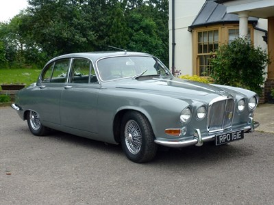 Lot 15-1967 Jaguar 420