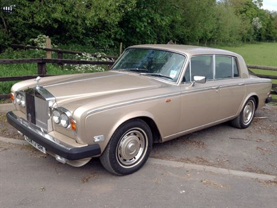 Lot 17-1977 Rolls-Royce Silver Shadow II