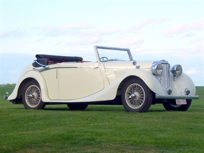 Lot 57-1939 SS Jaguar 1.5 Litre Drophead Coupe