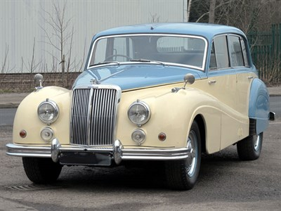 Lot 25 - 1956 Armstrong Siddeley Sapphire 346