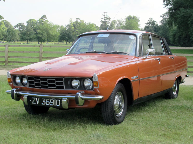 Lot 76-1974 Rover 2200 SC Saloon