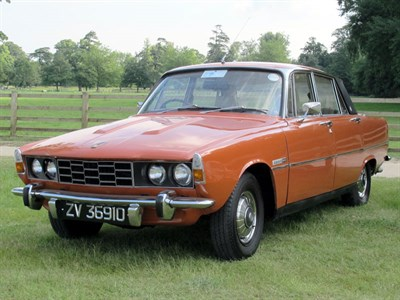 Lot 29-1974 Rover 2200 SC Saloon