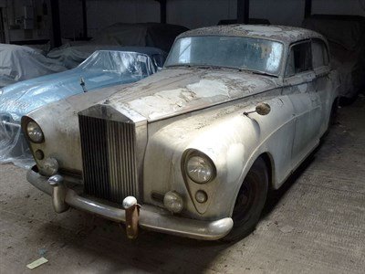 Lot 19-1957 Rolls-Royce Silver Cloud Limousine